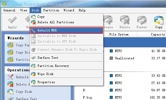 Fix mbr for windows with the best partition manager minitool partition wizard - How to recover partition table ...