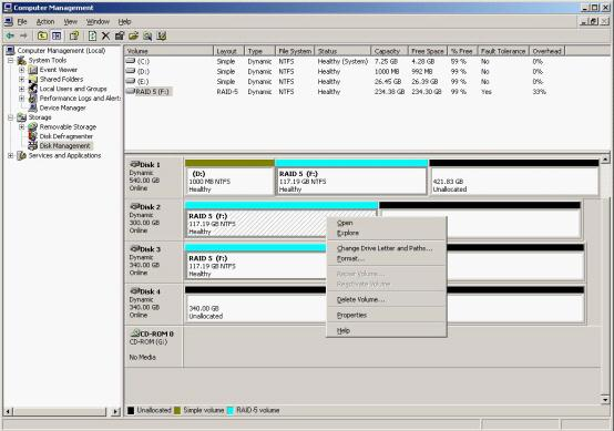 Expand Raid 5 Array With The Powerful Dynamic Disk Manager