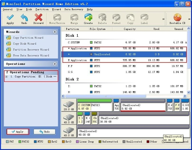 Free partition magic software trial - MiniTool Partition Wizard.