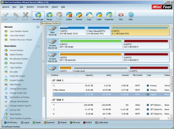 how to make exact 100gb partition