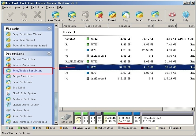 how to change path in windows 2003 server