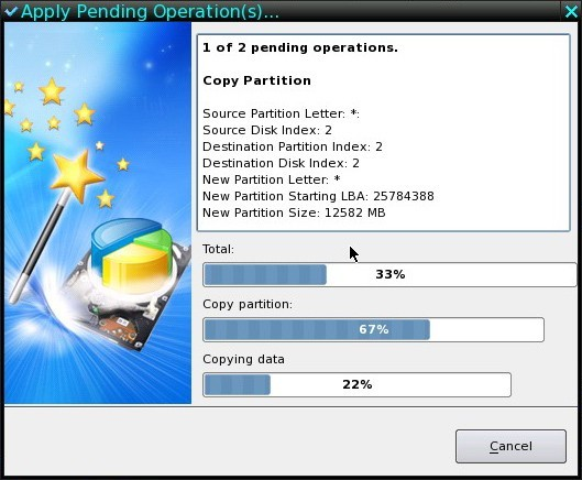 how to create a bootable partition