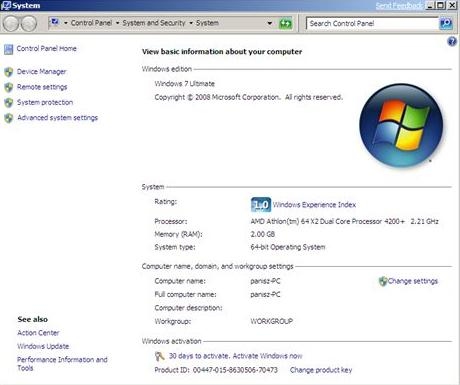 Product Key For Windows 7 Ultimate