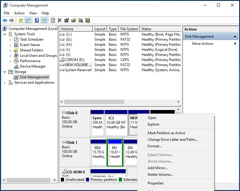 how to change hard drive to mbr windows 10