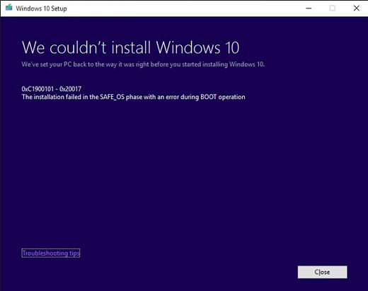 Introduction To Blue Screen Errors During Windows 10 Upgrade