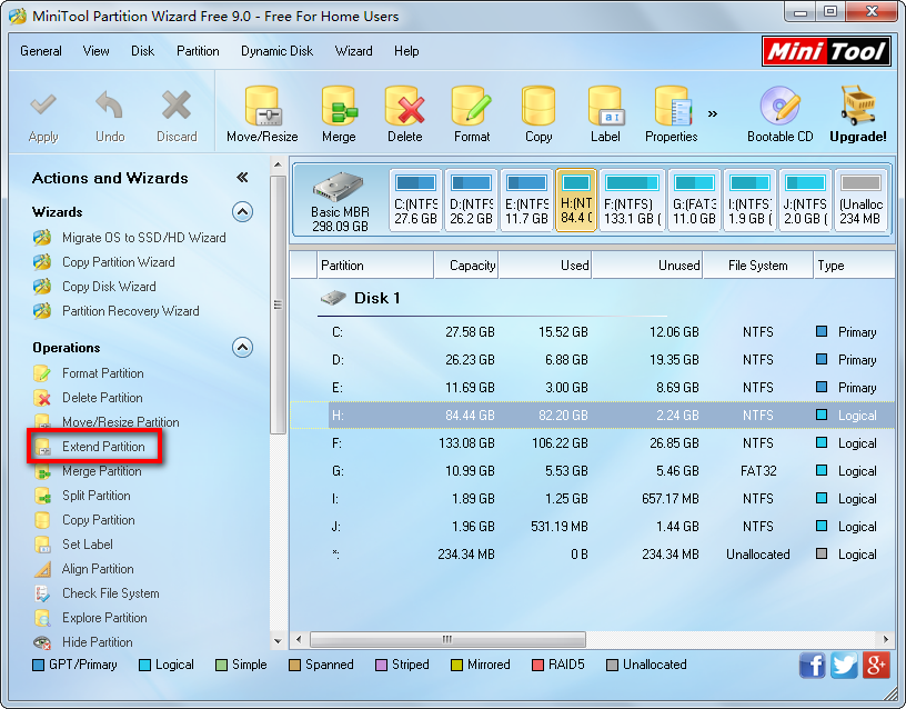 how to clear low disk space