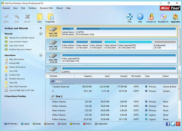 Mini tool partition wizard free download