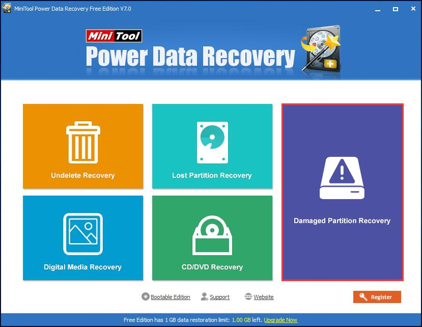 recover froamtted partition data