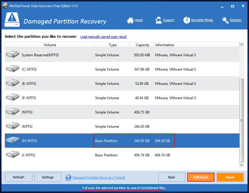 Recover files from dynamic disk in Windows 11