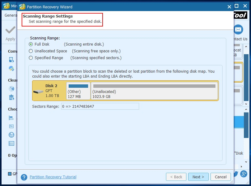 Recover files from dynamic disk in Windows 6