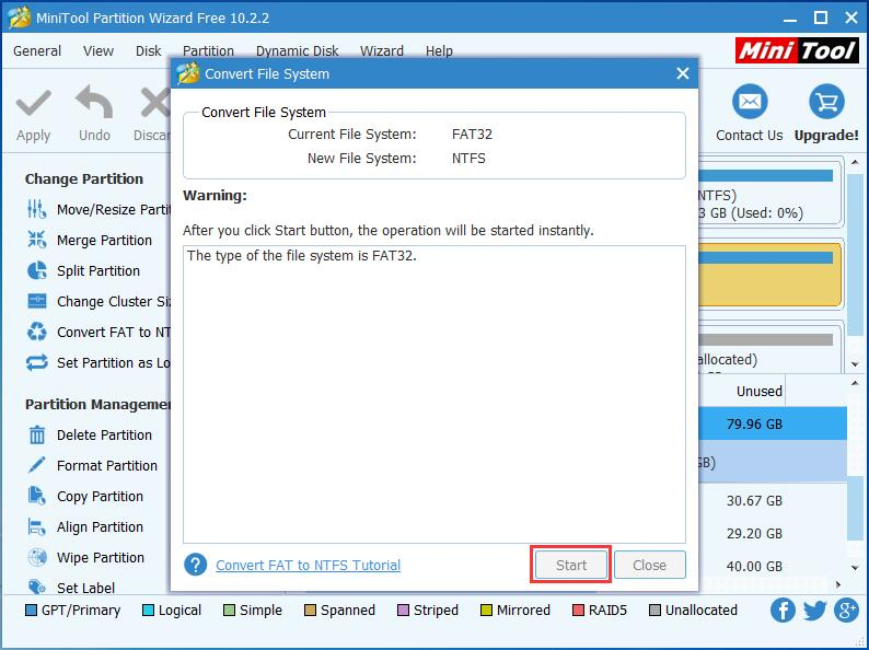 3 Ways to Convert FAT32 to NTFS Windows 7