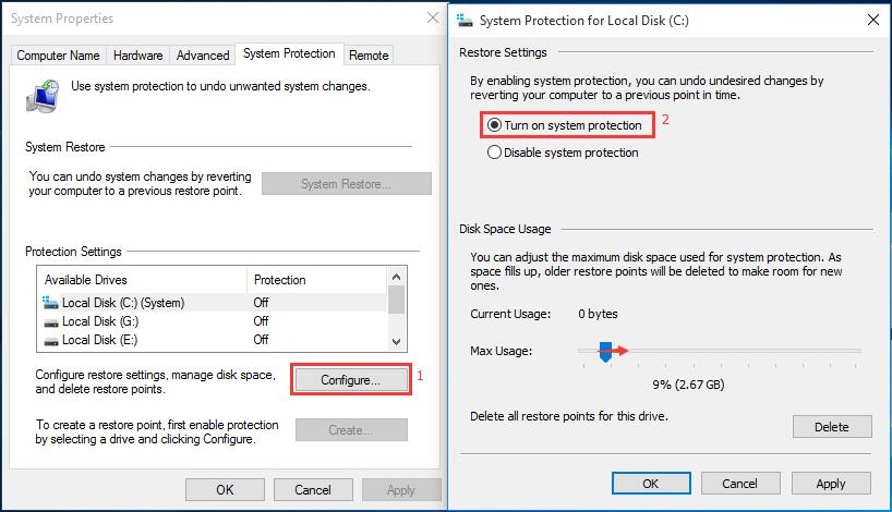 How to restore computer to earlier date