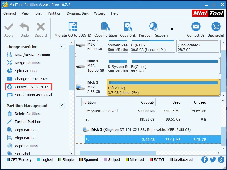 how to partition c drive in windows 10 without formatting