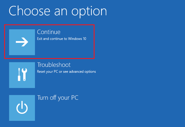 fix windows 8 boot from command prompt