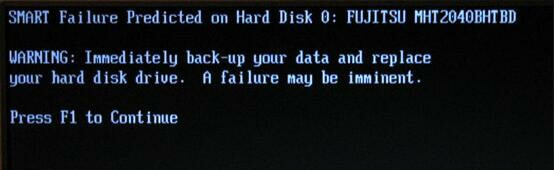 SMART Failure Predicted on Hard Disk? Quickly Fix It Now!