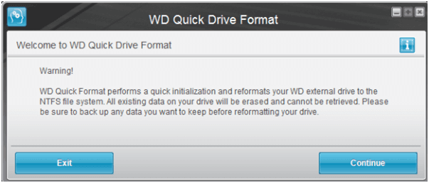 how to reformat external hard drive for mac quickly