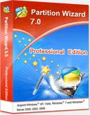 برنامج Partition Wizard5.2 لإعادة تقسيم مساحة البارتشنات بدون فورمات مع الشرح الوافى