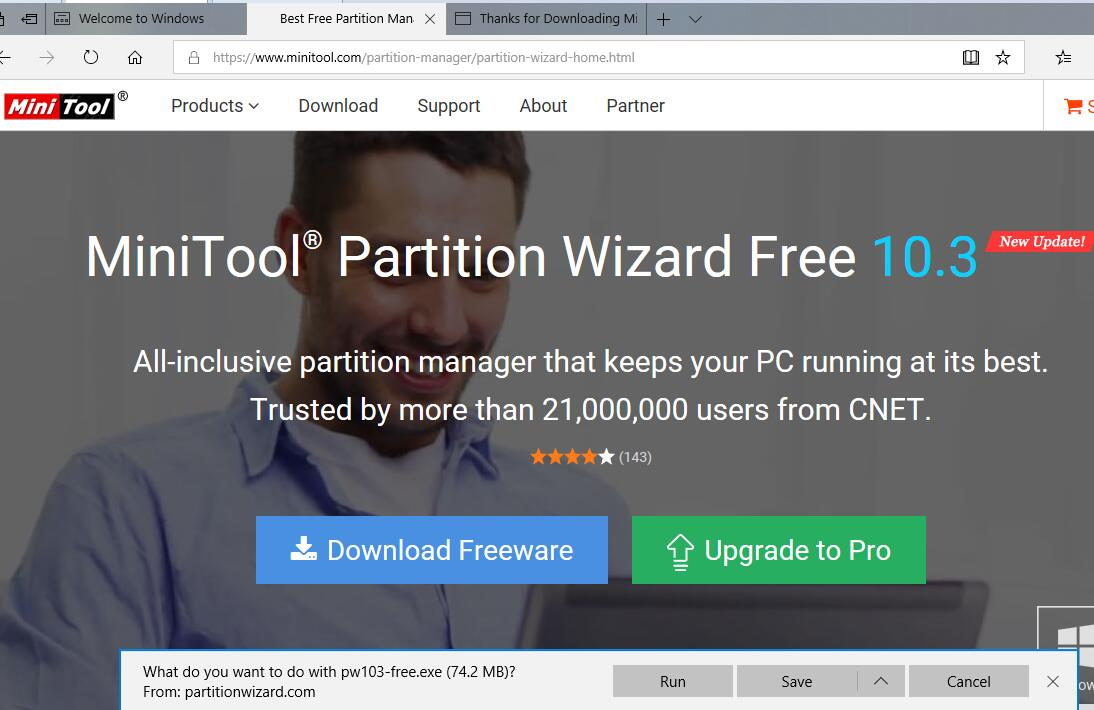 Free Download MiniTool Partition Wizard | Best Partition