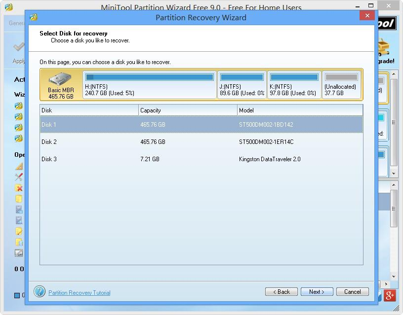 Partition Recovery Wizard 3