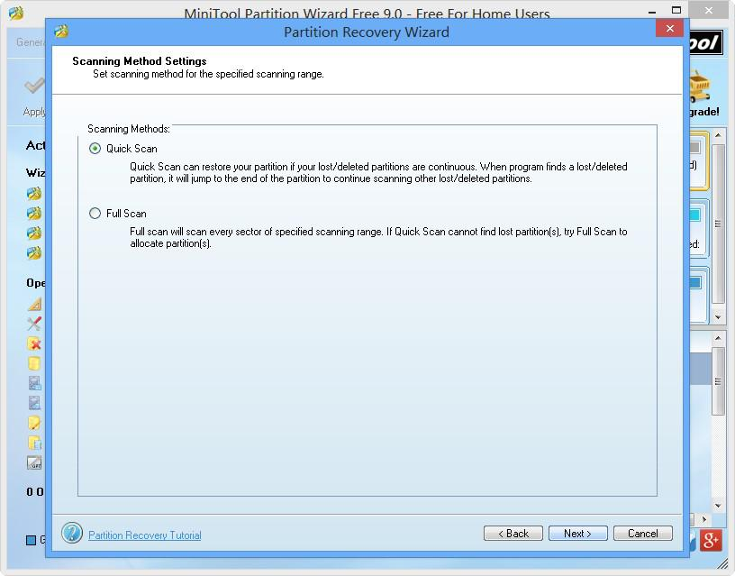 Partition Recovery Wizard 5