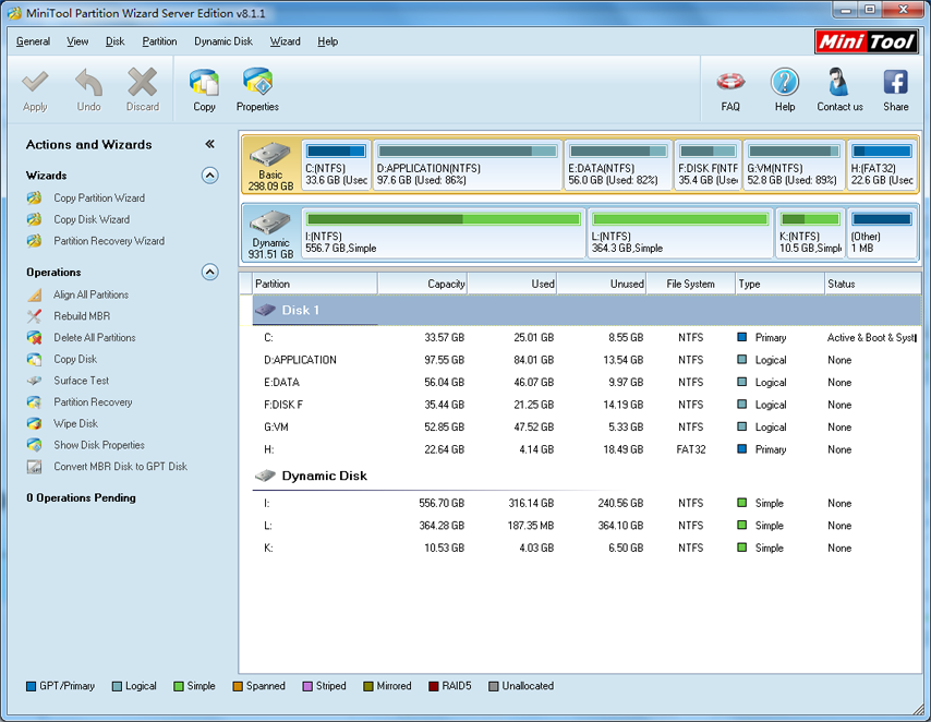 minitools partition wizard iso