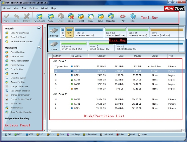 Minitool Partition Wizard V8 1 1 Full