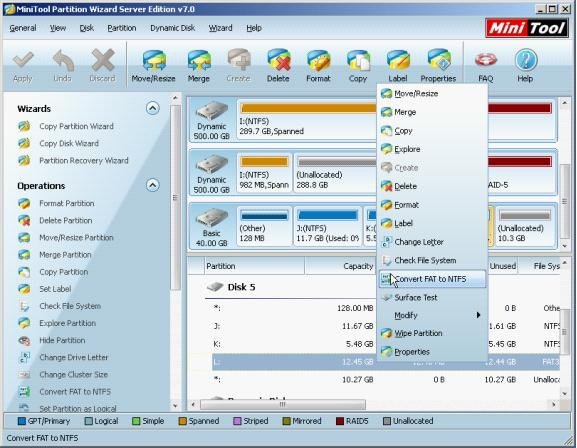 disk managenmet how to make operating system on disk 1