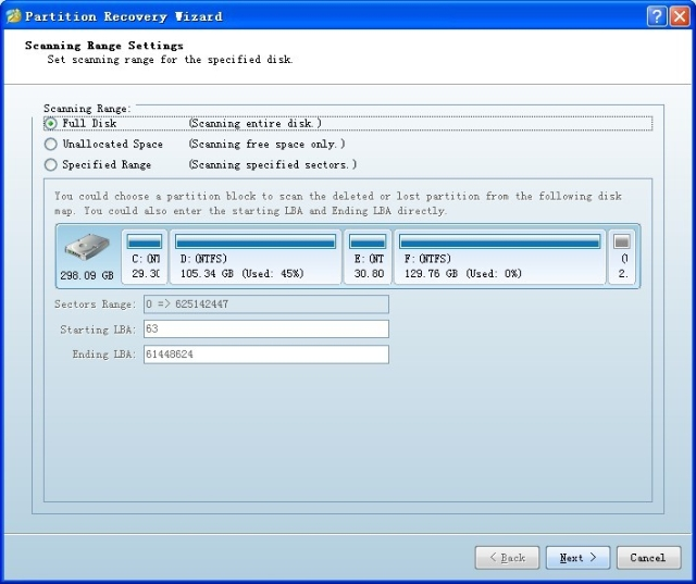 minitool partition recovery wizard