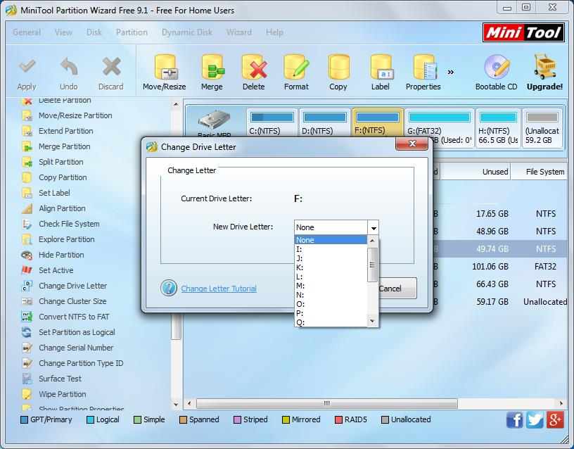 How to show hidden hard disk partition 2