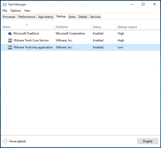 how to turn off programs on startup windows 10