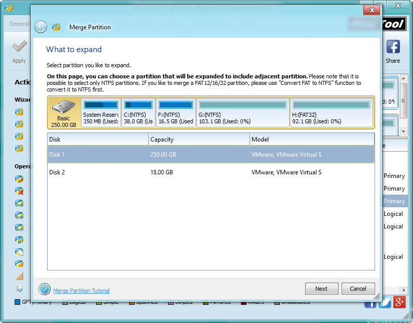 how to delete partition windows 8.1