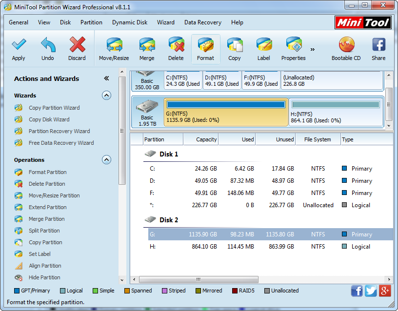 Free Download External Hard Drive Repartition Software to ...
