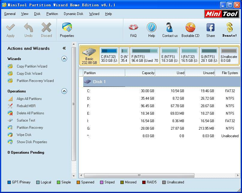 How to recover unallocated space in hard drive in windows 7
