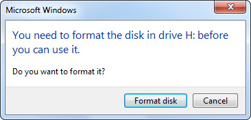 Can't Access A Partition Windows 6