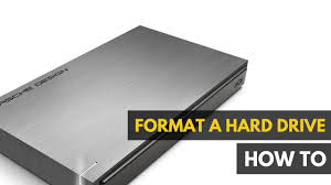 how to format and partition a hard drive