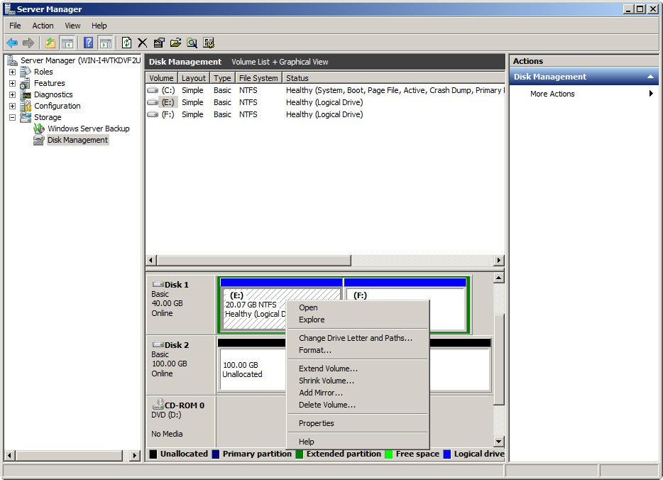 Partition Magic Windows Server 2008 2
