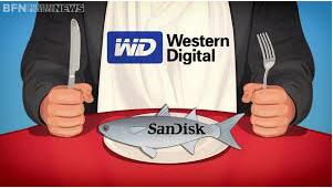 Western Digital Buys SanDisk1