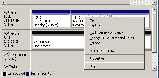 Best Partition Magic for Windows Server 2003 32/64 Bit 3