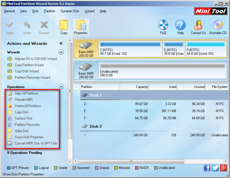 Best Partition Magic for Windows Server 2003 32/64 Bit 5