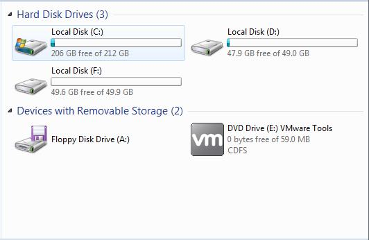 partition without drive letter in disk management is invisible in windows explorer 5
