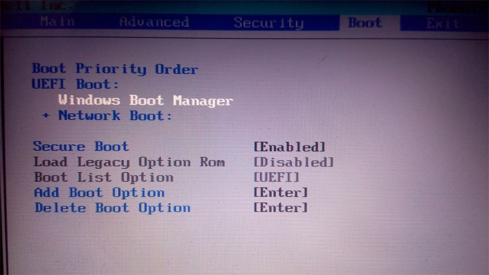 Enable Dual Boot Vista