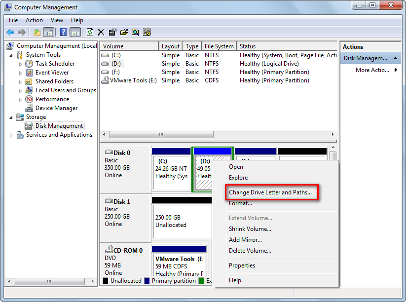 Change Drive Letter Windows  Recovery Console