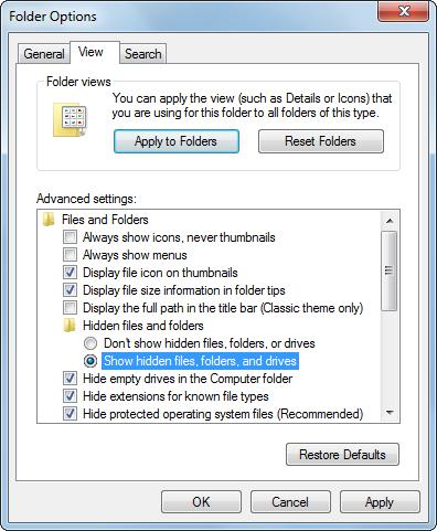 How to protect important data in Windows 4