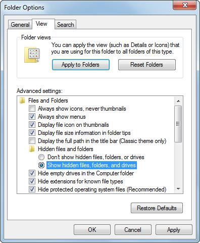 How to protect important data in Windows 6
