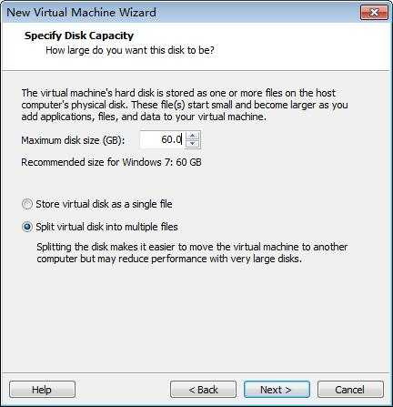 add hard disk set hard disk capacity