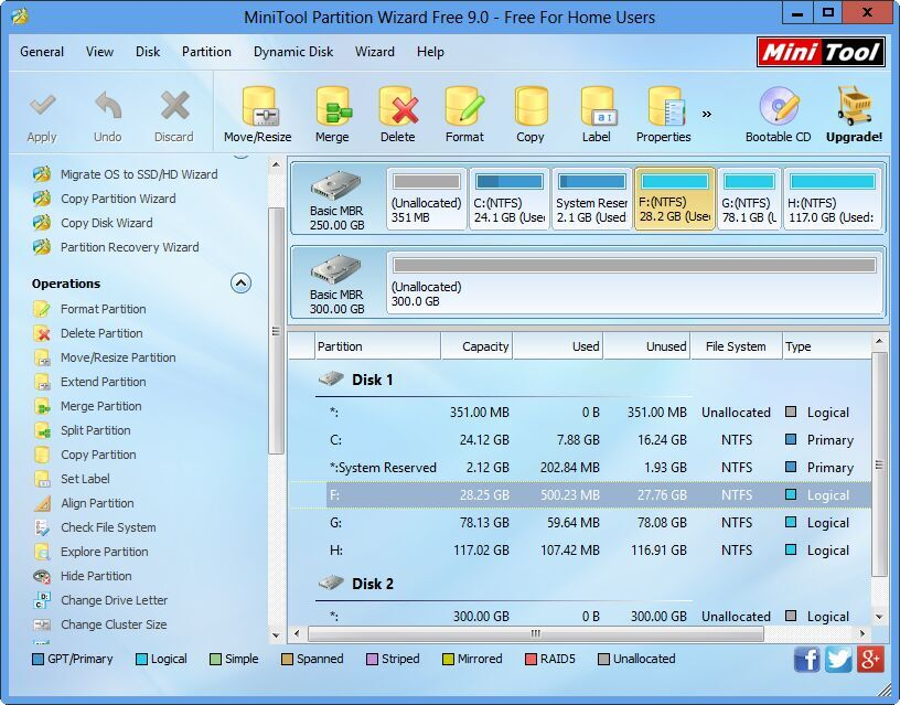 minitool partition wizard portable 77