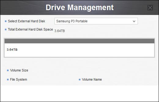 samsung drive management tool