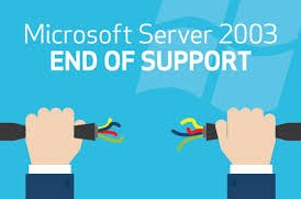 server 2003 extended support ended