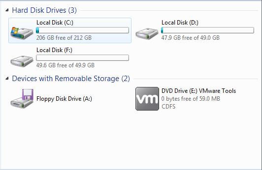 partition without drive letter in disk management is invisible in windows explorer