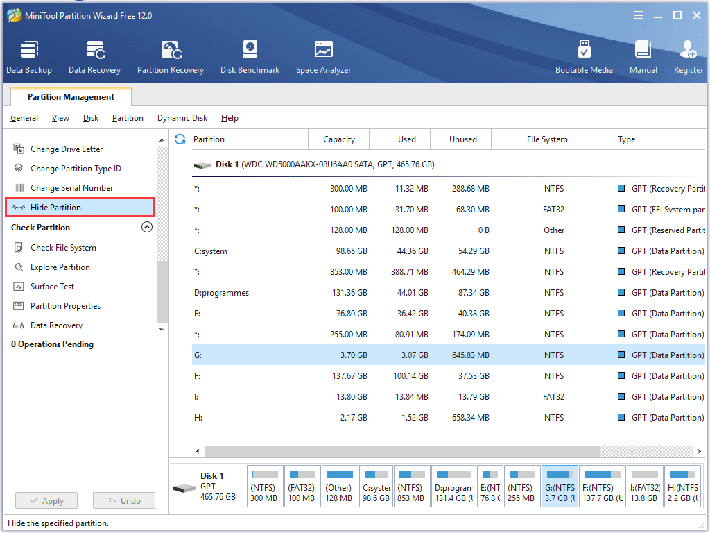 hide partition